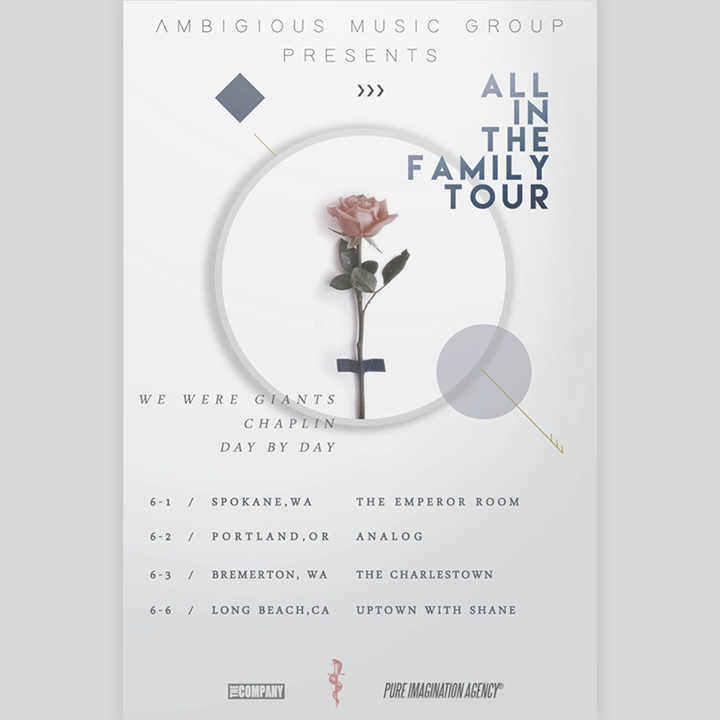 Day By Day Tour Dates