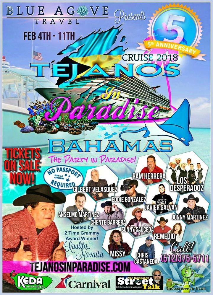 Sunny Sauceda @ Carnival Cruise - New Providence, The Bahamas