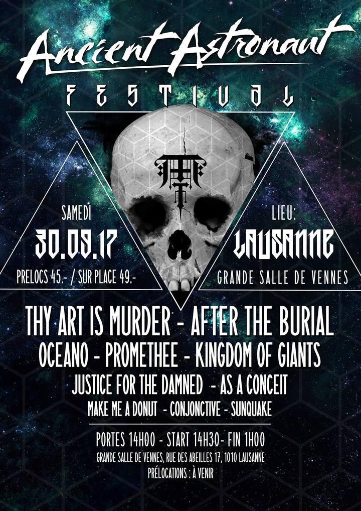 Conjonctive @ Ancient Astronaut Festival - Lausanne, Switzerland