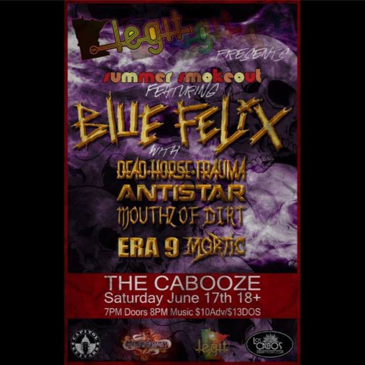 Blue Felix Tour Dates