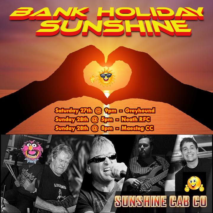 Sunshine Cab Co Tour Dates