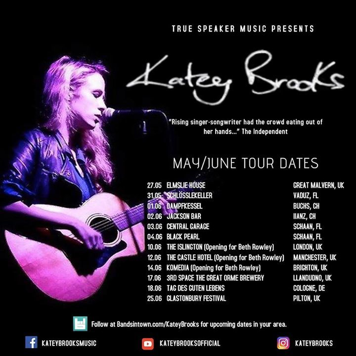 Katey Brooks Tour Dates