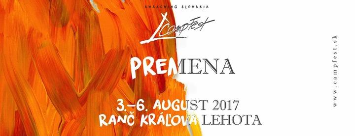 Timothy @ CampFest 2017 - Kráľova Lehota, Slovakia