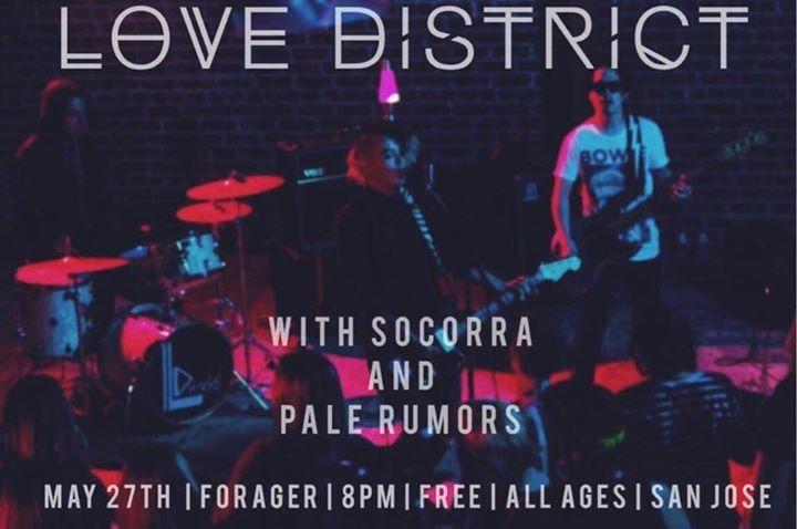 Love District Tour Dates