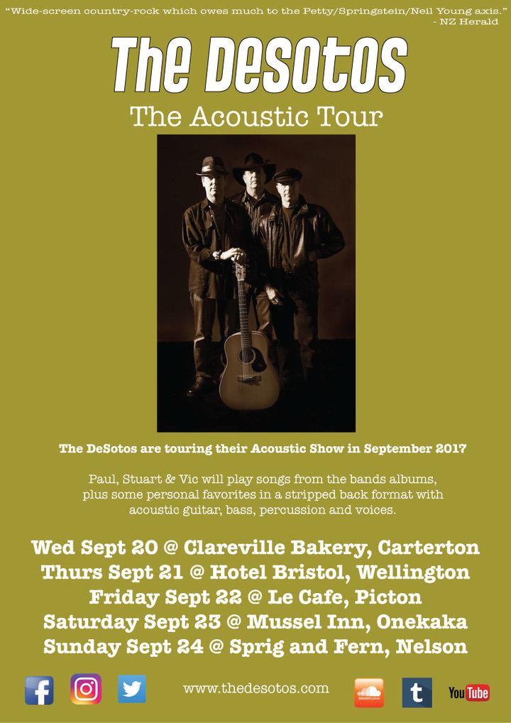The DeSotos @ Hotel Bristol - Wellington, New Zealand