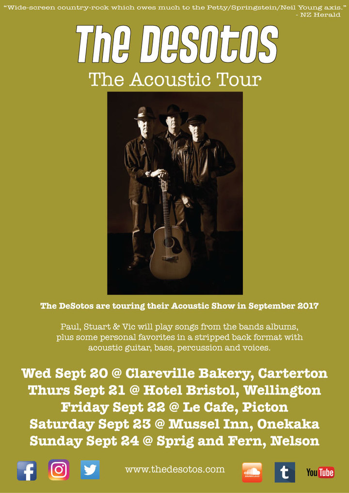 The DeSotos @ The Mussel Inn - Collingwood, New Zealand