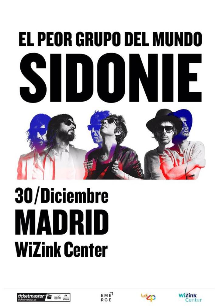 Sidonie @ Wizink Centre - Madrid, Spain