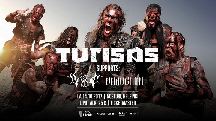 Turisas @ Nosturi - Helsinki, Finland
