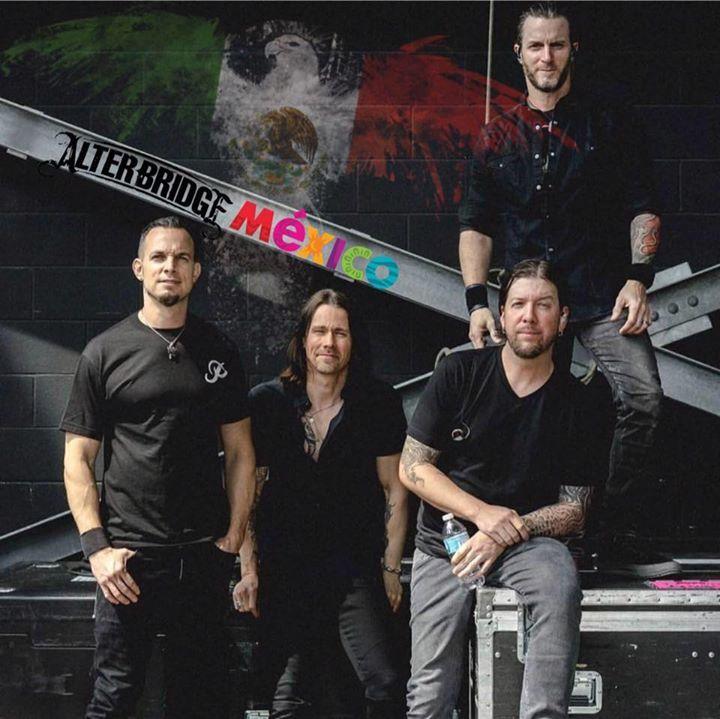 Alter Bridge Mexico Tour Dates