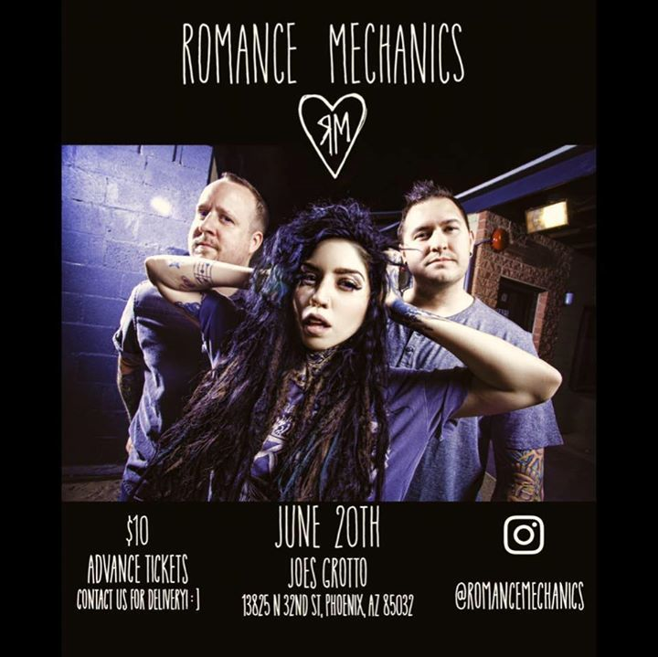 Romance Mechanics Tour Dates