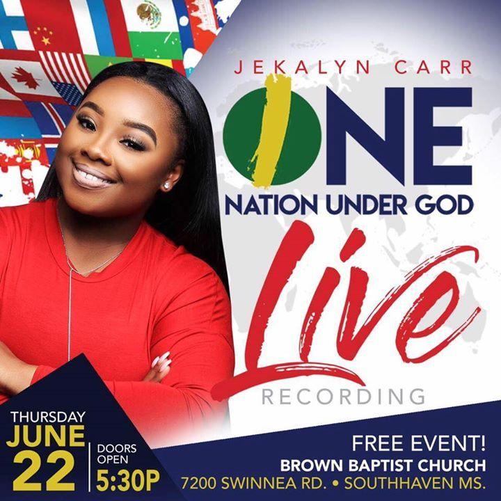 Jekalyn Carr @ Brown Baptist Church - Southaven, MS