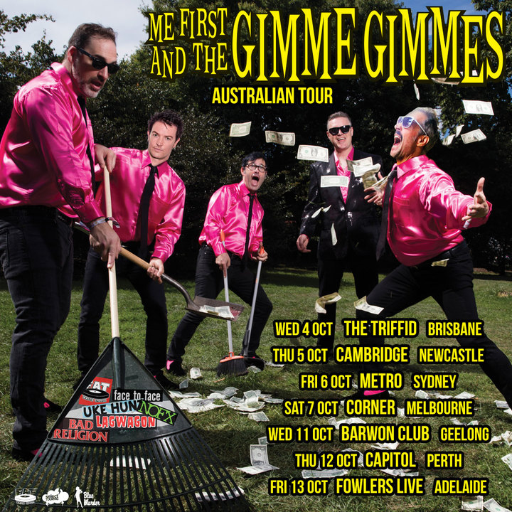 Me First and the Gimme Gimmes @ The Triffid - Brisbane, Australia