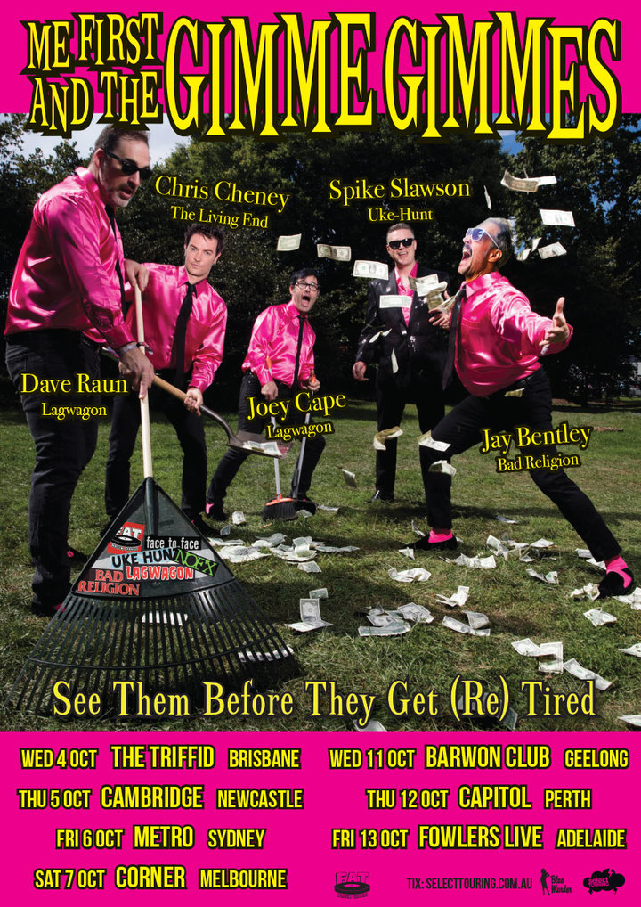 Me First and the Gimme Gimmes @ Barwon Club - South Geelong, Australia
