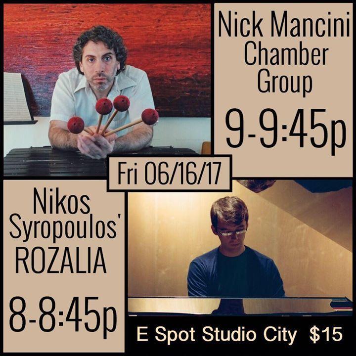 Nick Mancini Tour Dates