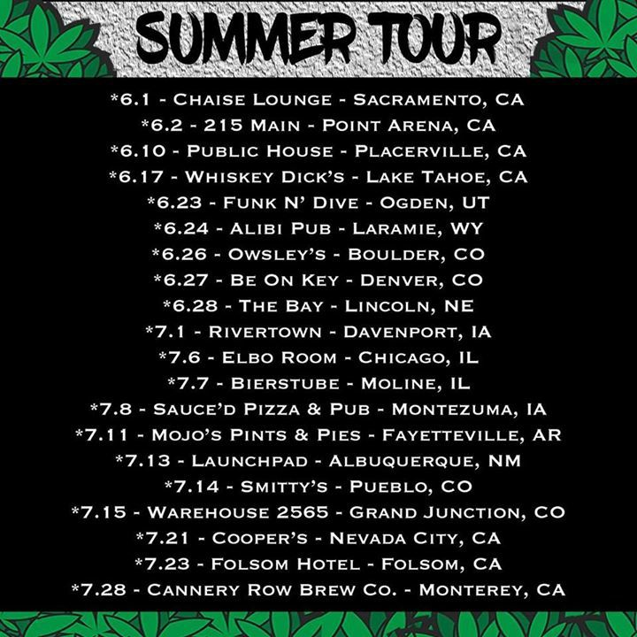 Two Peace Tour Dates