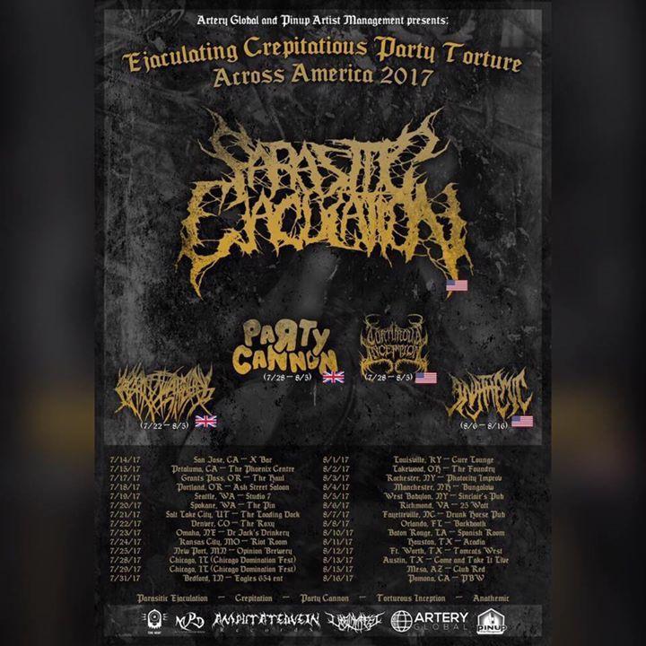 Torturous Inception Tour Dates