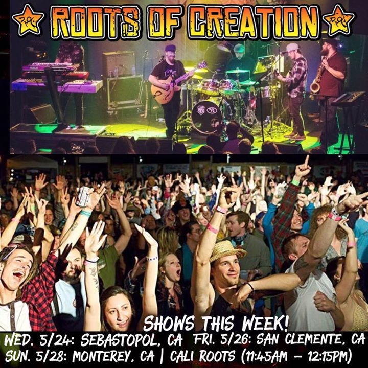 Roots Of Creation @ Pacific Standard Tavern  - New Haven, CT