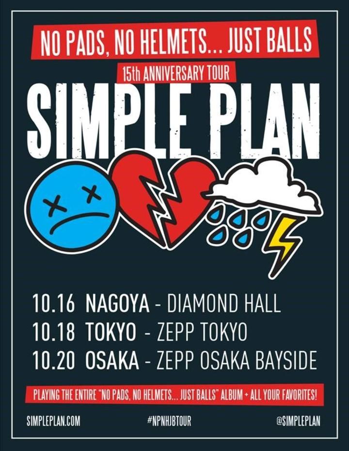 Simple Plan @ Diamond Hall - Nagoya-Shi, Japan
