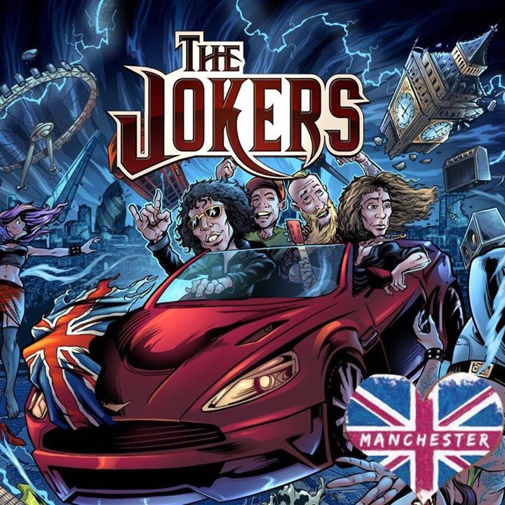 The Jokers @ The E Rooms - Skelmersdale, United Kingdom