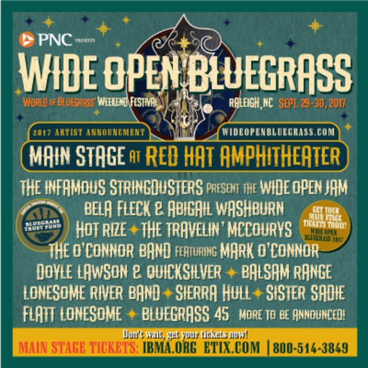 Flatt Lonesome @ IBMA's Wide Open Bluegrass - Red Hat Amphitheater - Raleigh, NC