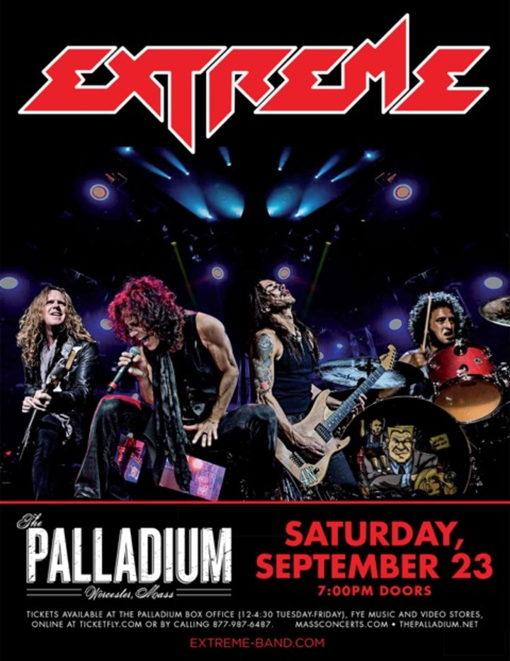 Extreme - The Band @ The Palladium - Worcester, MA