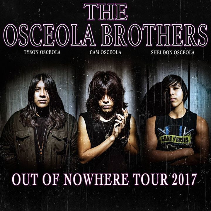The Osceola Brothers Tour Dates