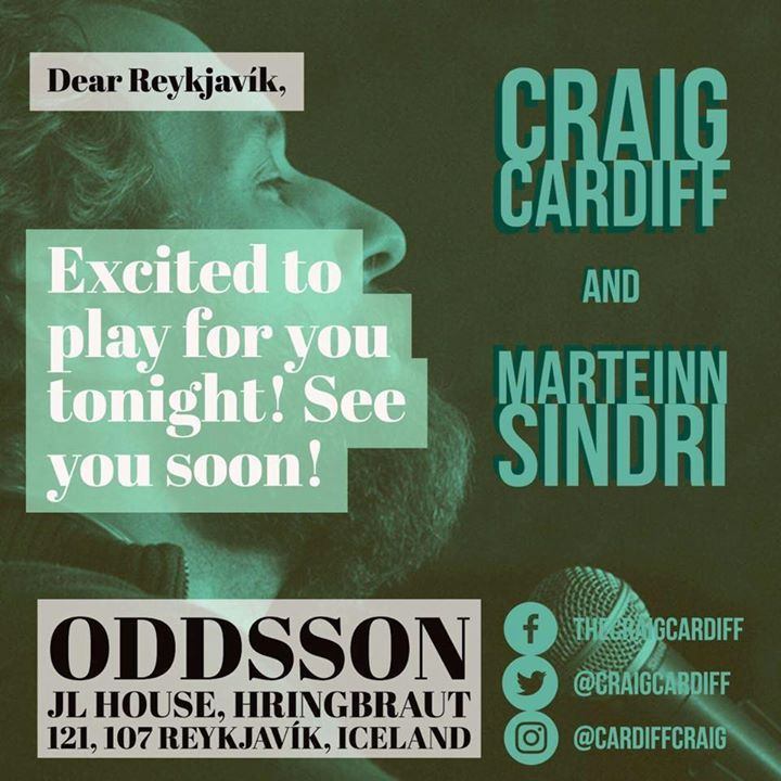 Craig Cardiff Tour Dates