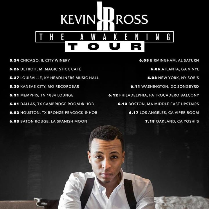 Kevin Ross Tour Dates