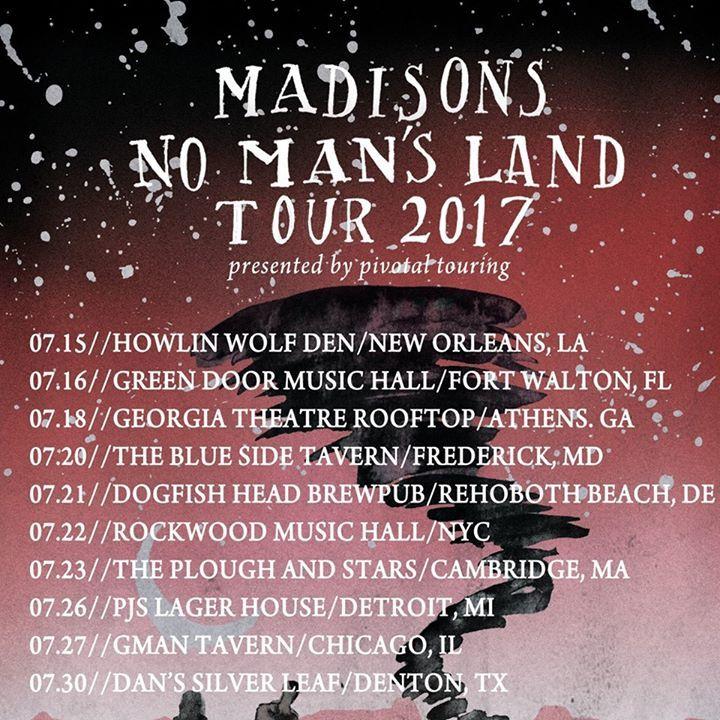 Madisons Tour Dates