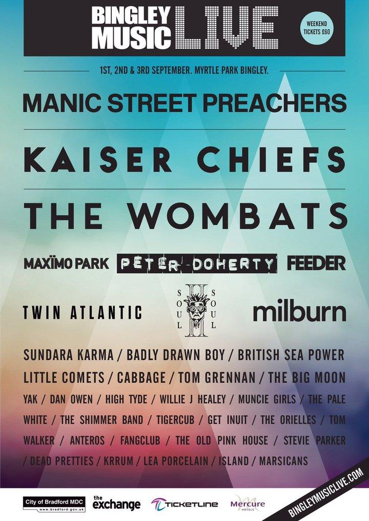 Twin Atlantic @ BINGLEY FESTIVAL - Bradford, United Kingdom