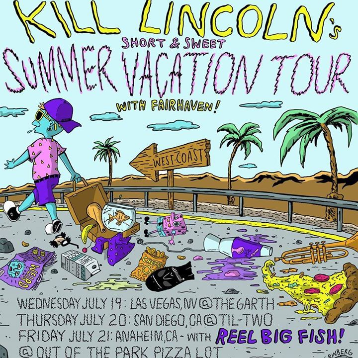 Kill Lincoln Tour Dates