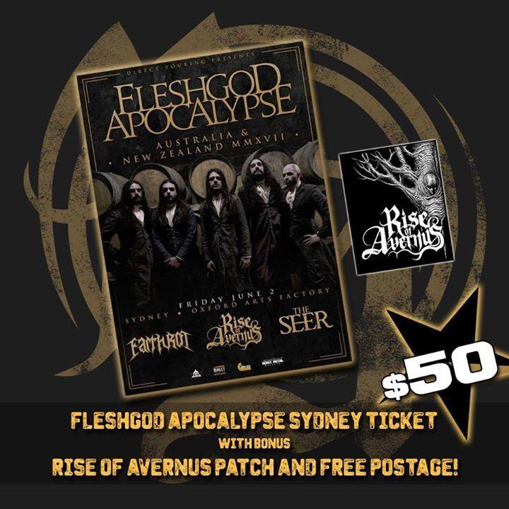 Rise of Avernus Tour Dates