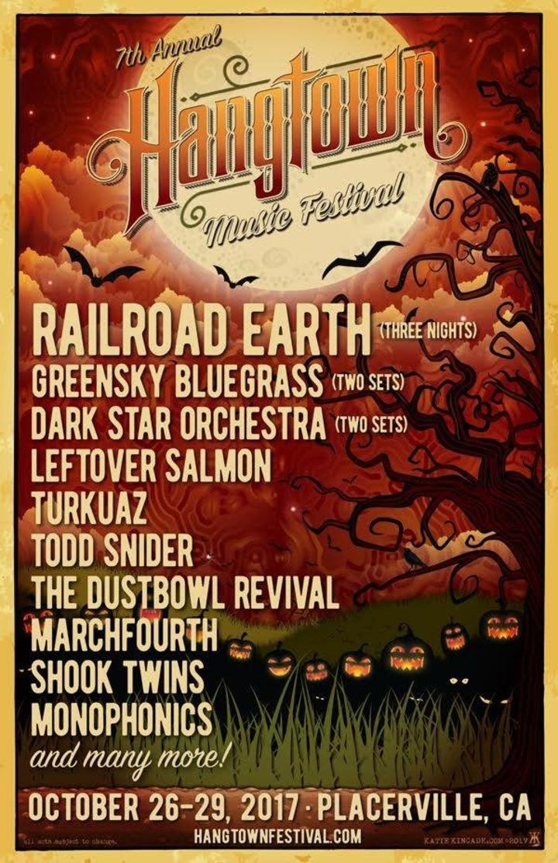 The Dustbowl Revival @ Hangtown Music Festival  - Placerville, CA