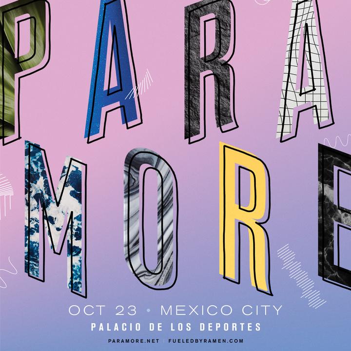 Paramore @ Palacio de los Deportes - México, Mexico
