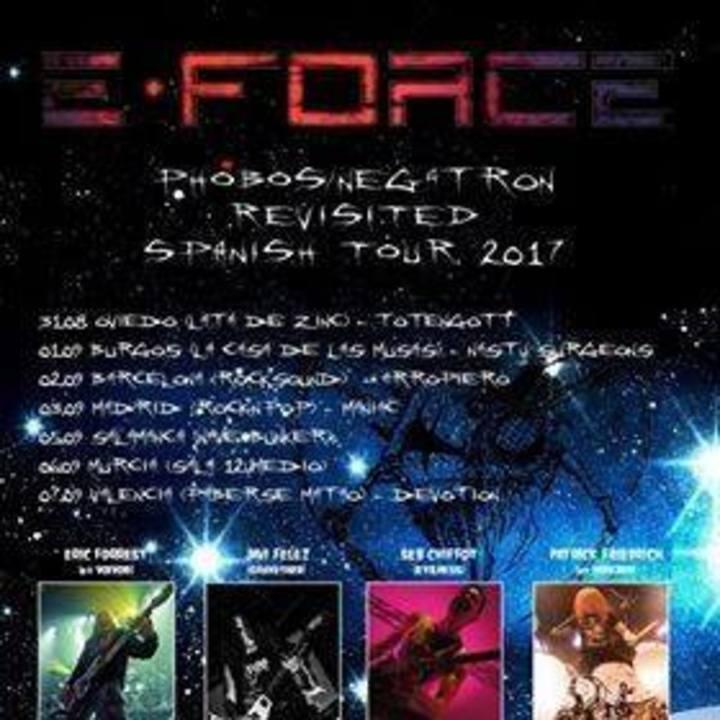 E-Force Tour Dates