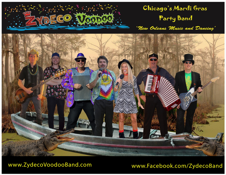 Zydeco Voodoo @ 210 Live Music Lounge - Highwood, IL