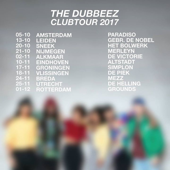 The Dubbeez Tour Dates