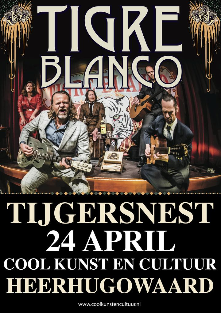Tigre Blanco @ Cool Kunst & Cultuur - Heerhugowaard, Netherlands