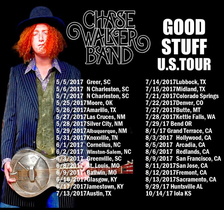 Chase Walker Band Tour Dates