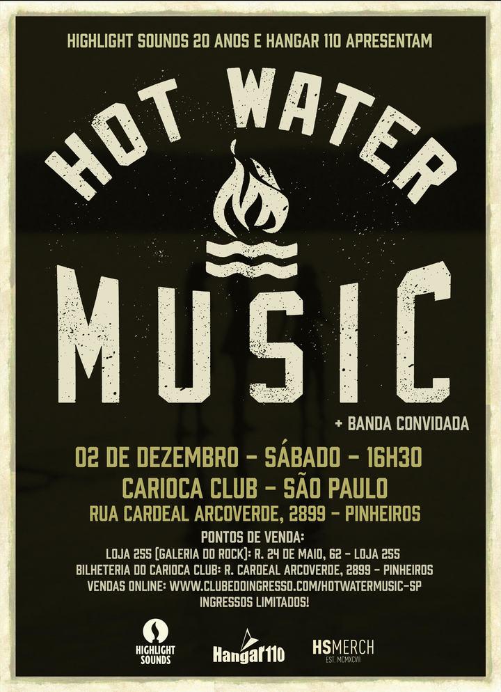 Hot Water Music @ Carioca Club - Sao Paulo, Brazil