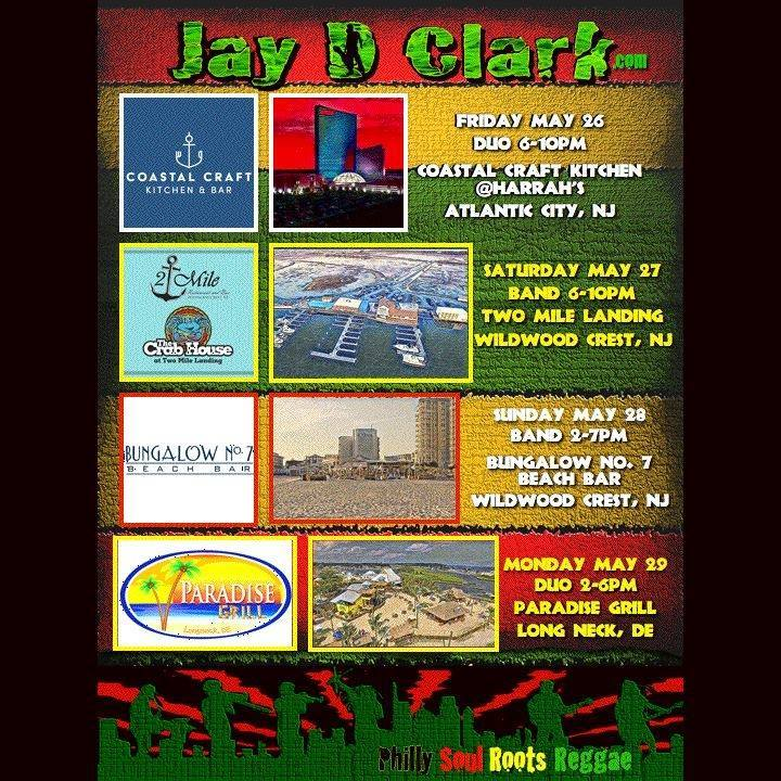 Jay D Clark Tour Dates