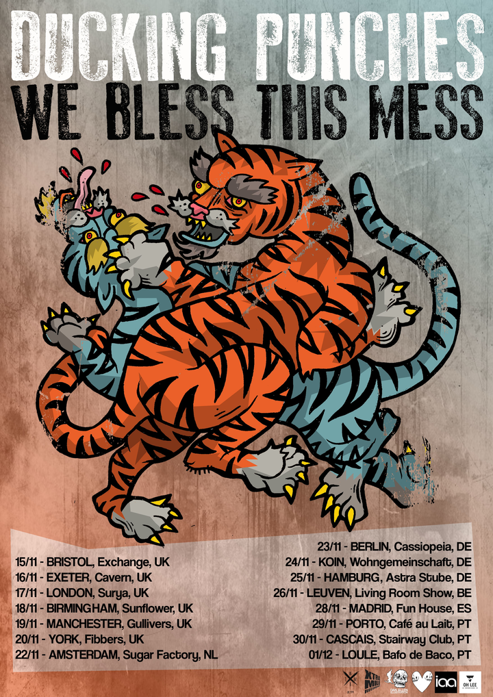 We Bless This Mess @ Die Wohngemeinschaft - Cologne, Germany