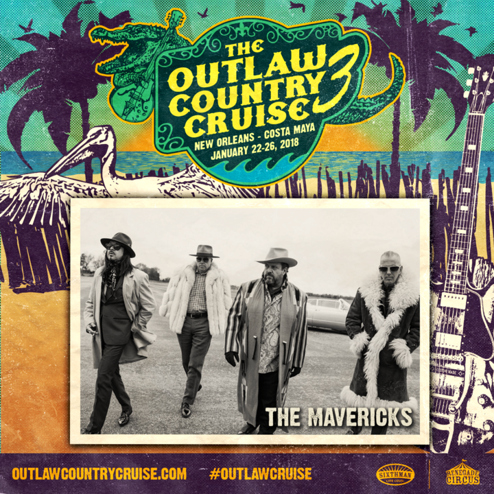 The Mavericks @ Outlaw Country Cruise - Tampa, FL