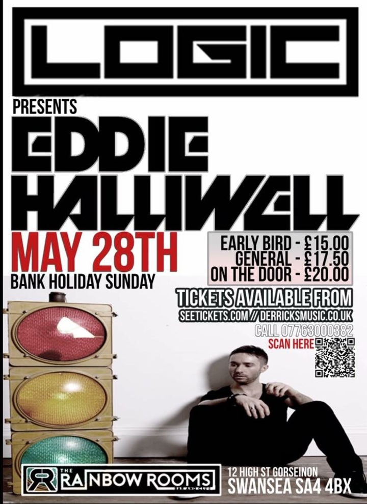 Eddie Halliwell @ The Rainbow Rooms - Swansea, United Kingdom