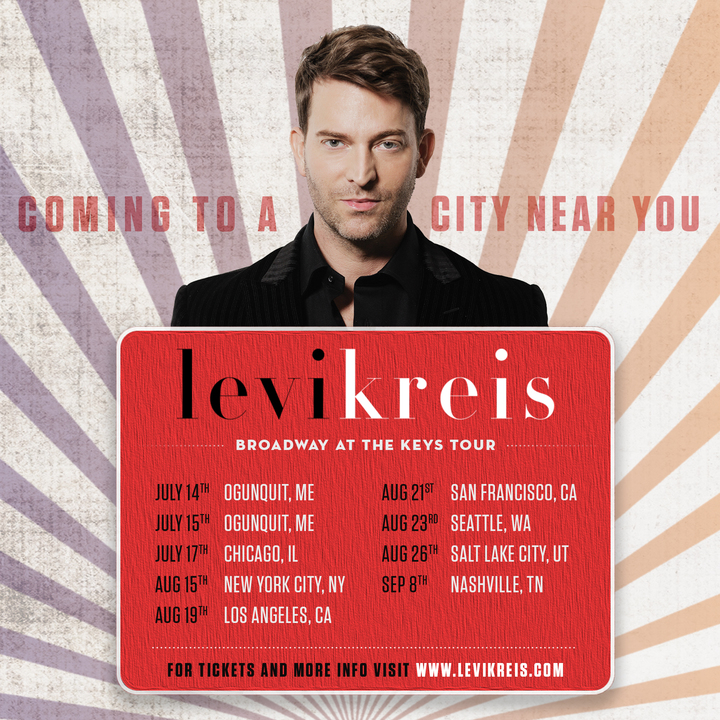 Levi Kreis @ Renberg Theatre - Los Angeles, CA