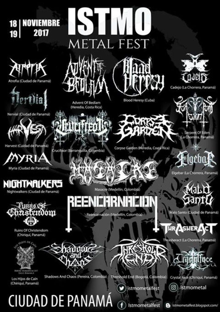 Advent Of Bedlam @ Istmo Metal Fest - Panama City, Panama