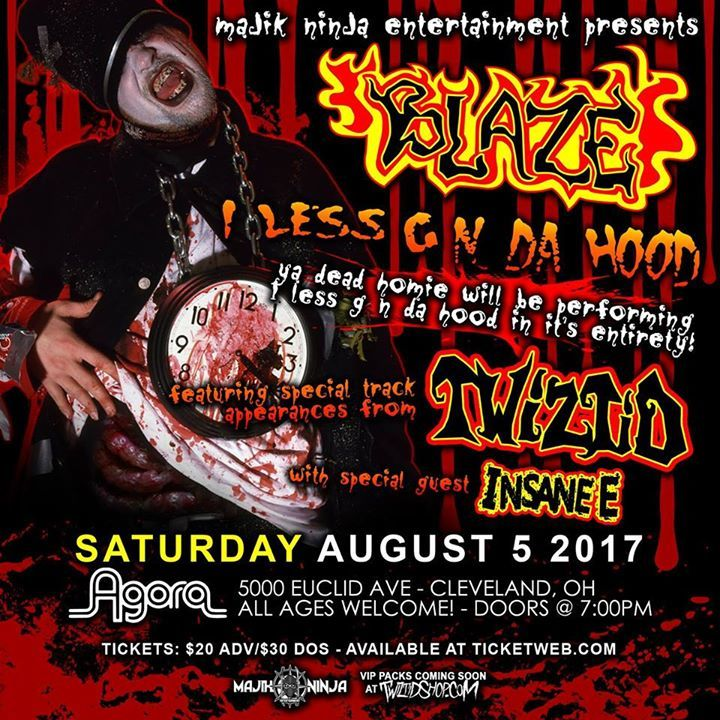 Blaze- Ya Dead Homie Tour Dates