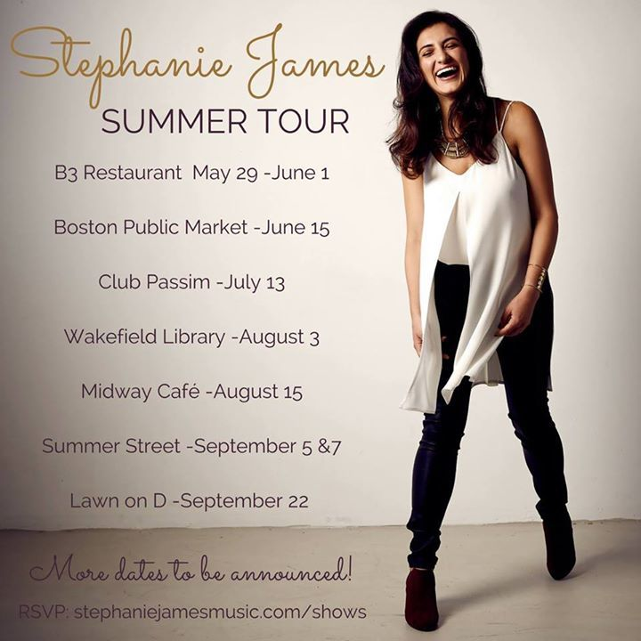 Stephanie James Tour Dates