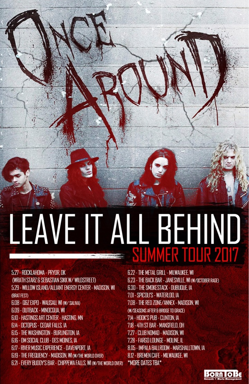Once Around Tour Dates