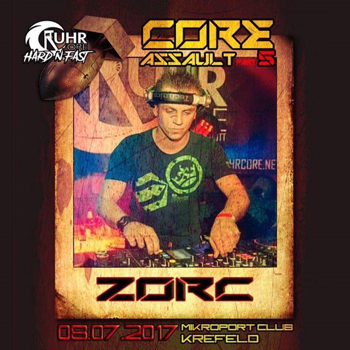 Zorc Tour Dates